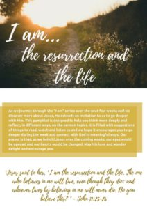 thumbnail of I AM Hand Out – Resurrection
