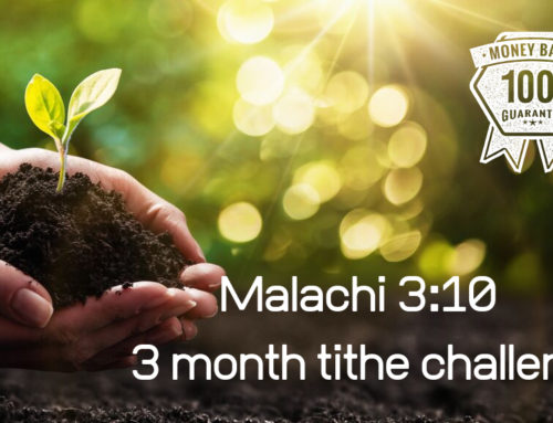 Three Month Tithe Challenge